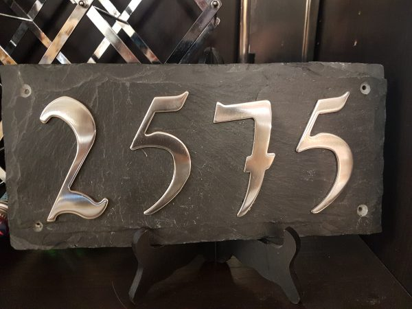 2575 metal house number from Hearth Manor Fireplaces