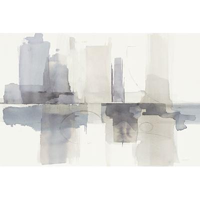 Contemporary Watercolor Abstract Canvas Wall Decor