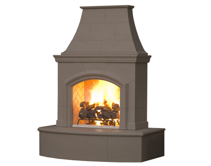 Pheonix complete outdoor fireplaces all in one