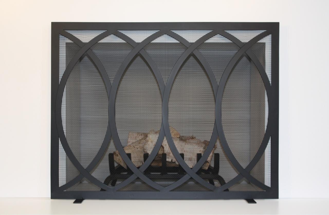 anna fireplace screen hearth manor