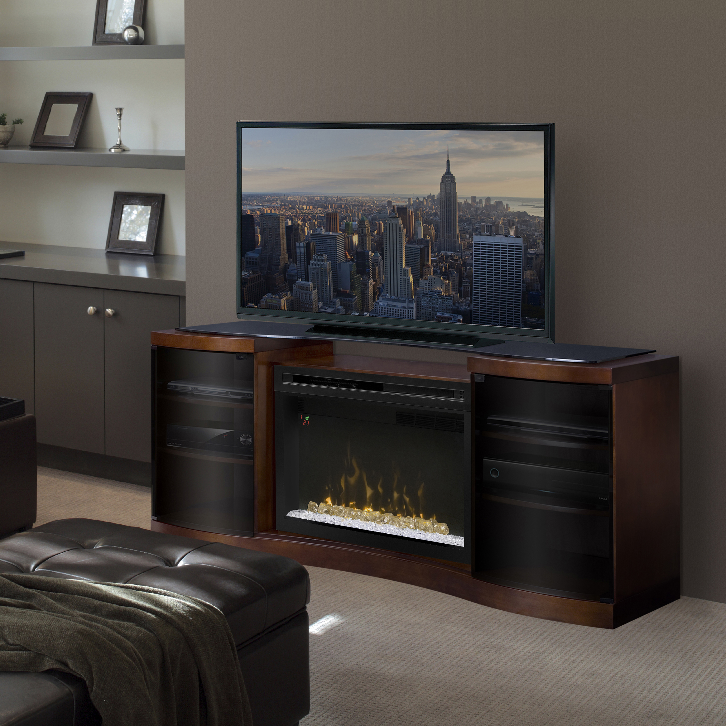 Acton Electric Fireplace Media Console by Dimplex