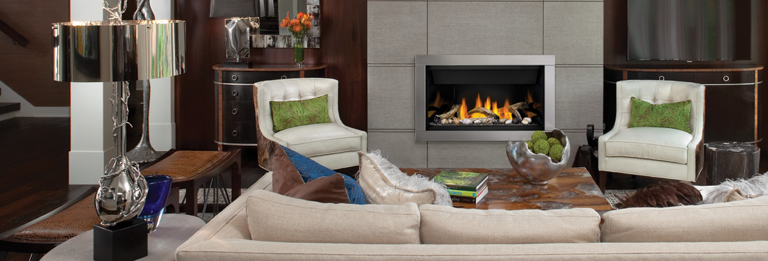 Ascent Linear Series from Napoleon Fireplaces