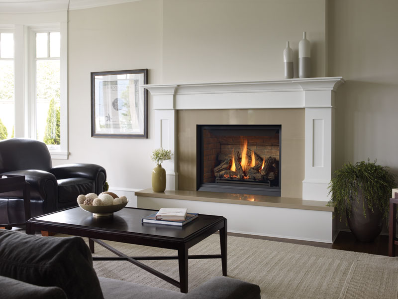 custom fireplace millwork by Hearth Manor Fireplaces