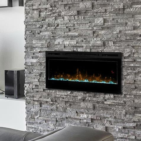 BLF 34 inch Dimplex Wall Mounted Fireplace