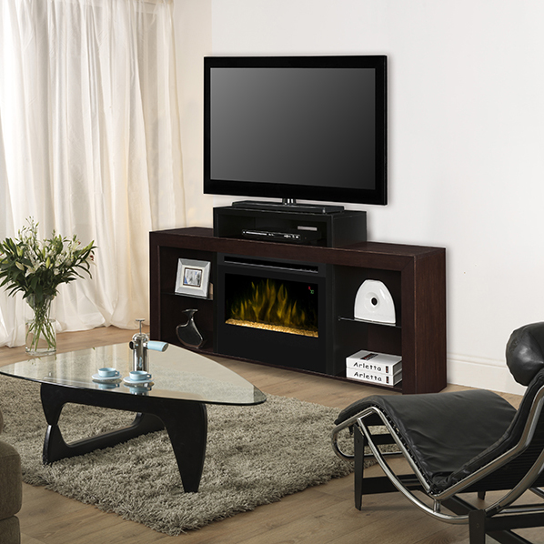 Beasley Electric Fireplace Media Console by Dimplex