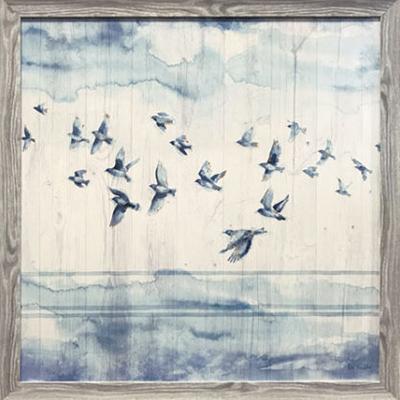 Contemporary Birds Abstract Canvas Wall Decor