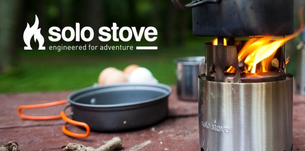 Solo Stove outdoor fire pit for camping and hiking