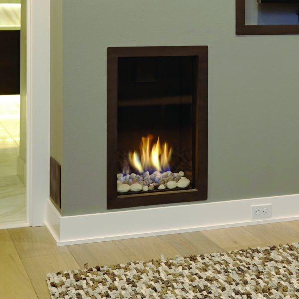 Ortal Clear 40 50 front facing Hearth Manor Fireplaces