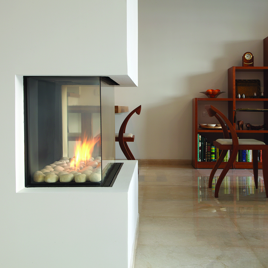 Ortal Three Sided Hearth Manor Fireplaces Gta