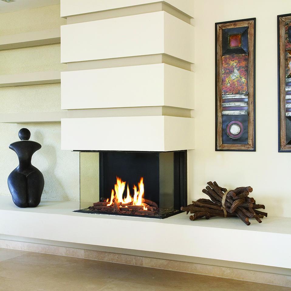 ortal three sided hearth manor fireplaces gta
