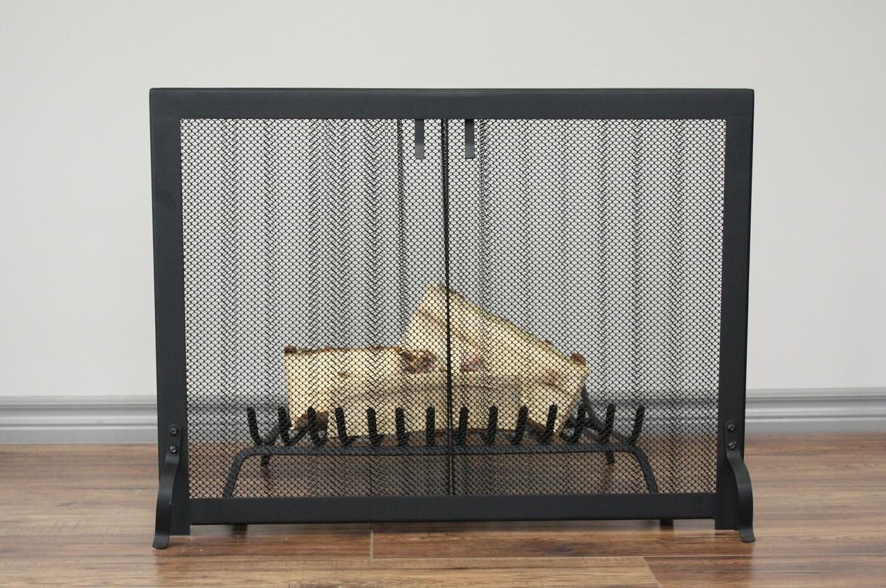 Curtain Fireplace Screen
