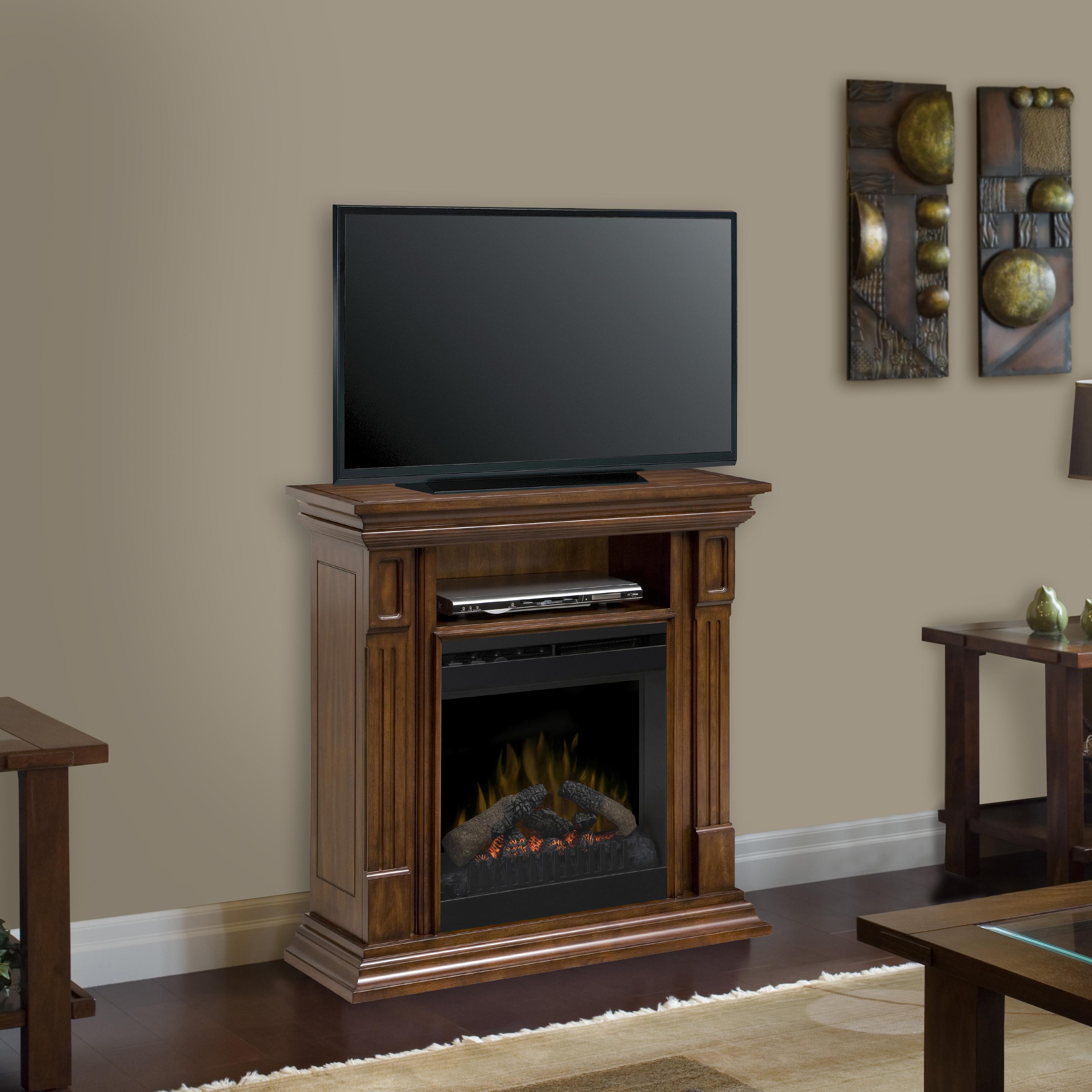 Deerhurst Electric Firepalce media console by DIMPLEX