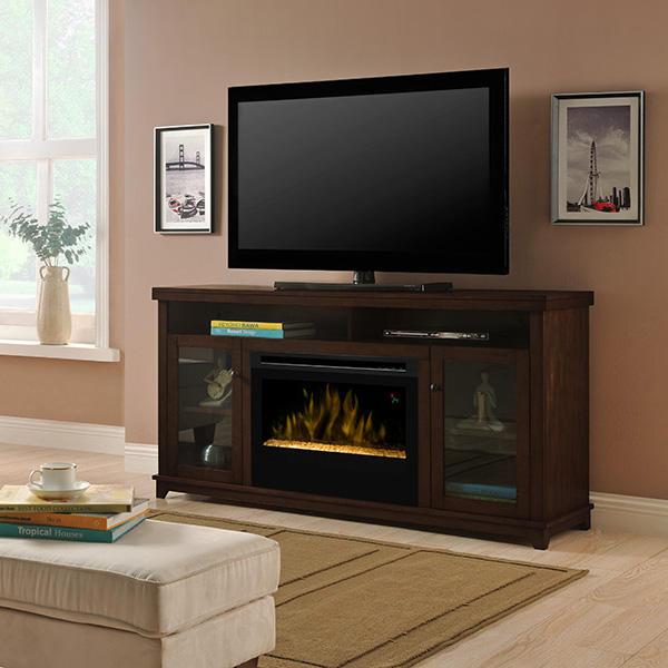 Dupont Electric Fireplace Media Console by DIMPLEX