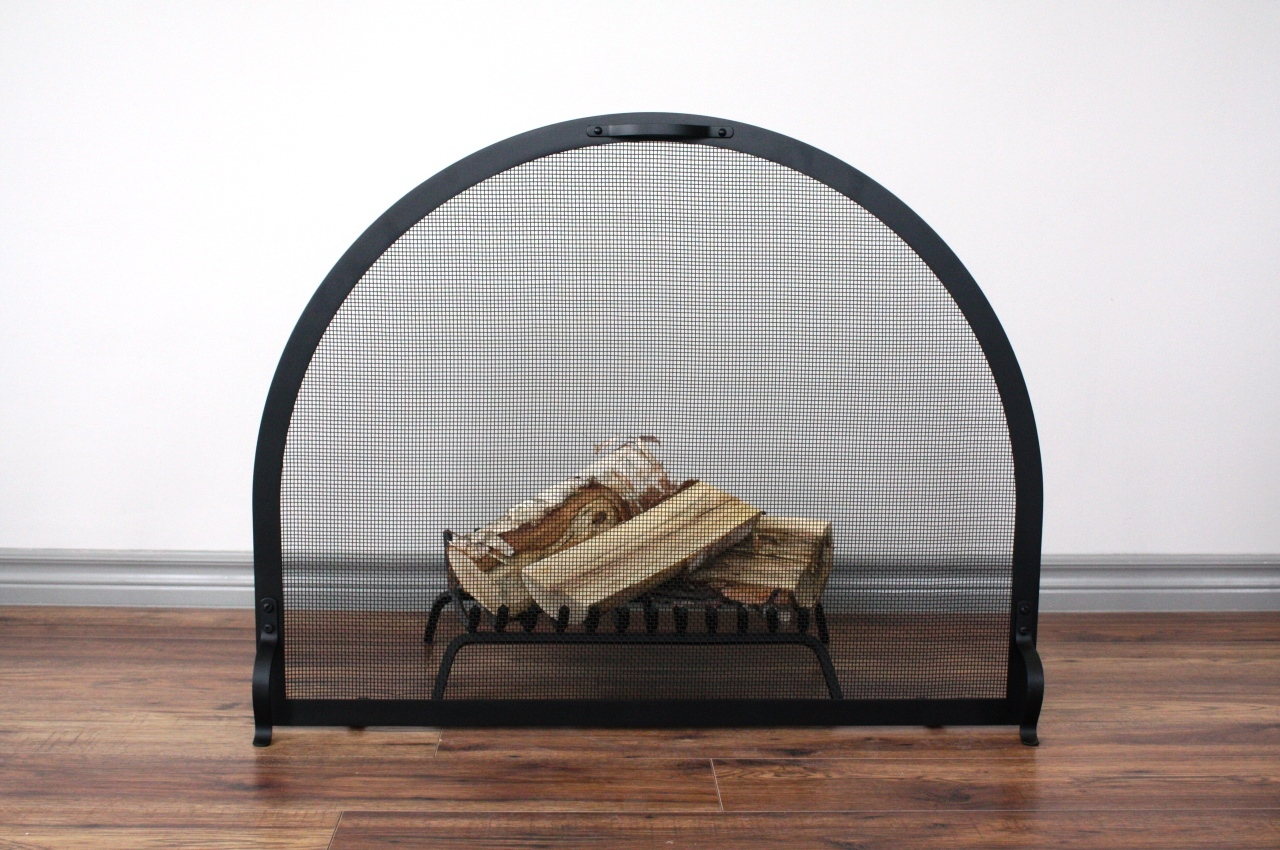 Heritage Arch Fireplace Screen