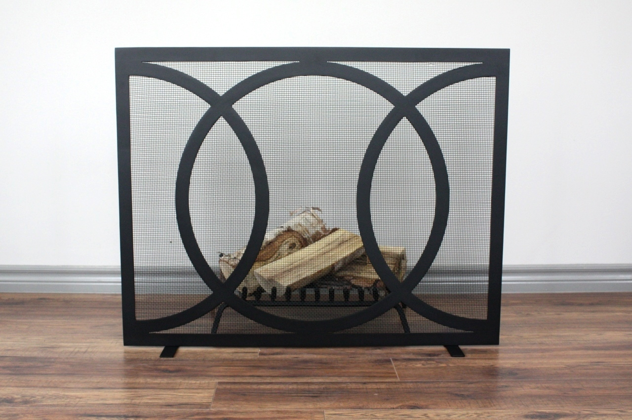 kloe fireplace screen hearth manor