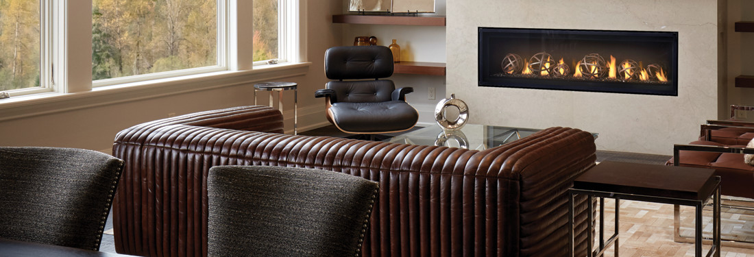 Luxuria linear series Fireplaces from Napoleon