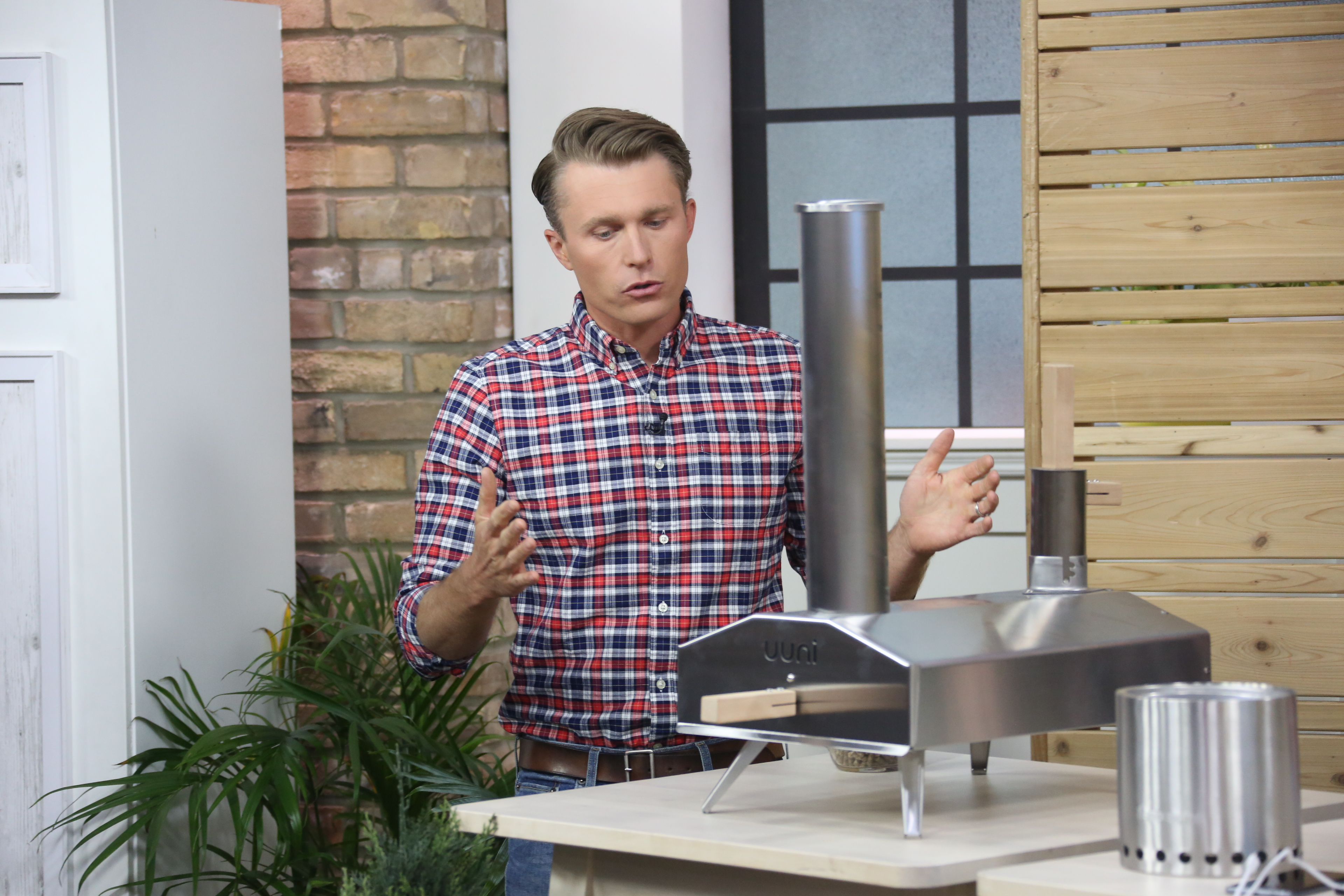Owen on the Marilyn Denis Show with Outdoor Products