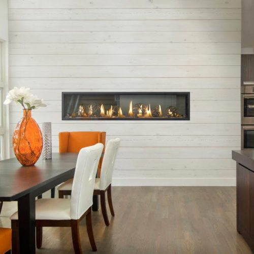 napoleon luxuria linear gas fireplaces