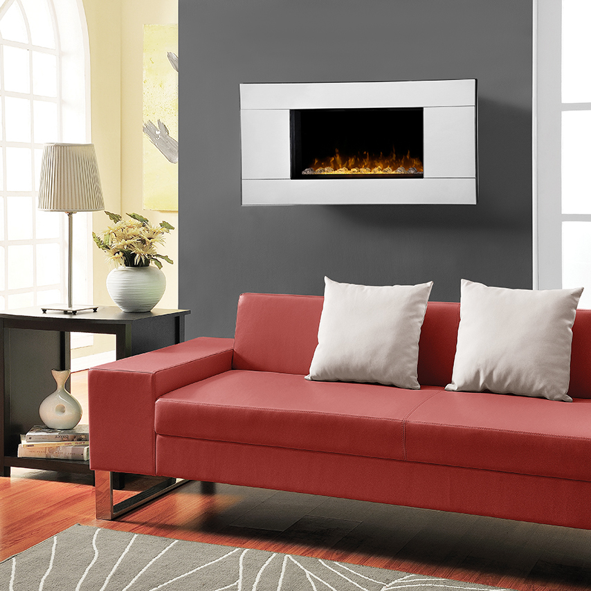 Reflections Wall Mounted Fireplace by Dimplex