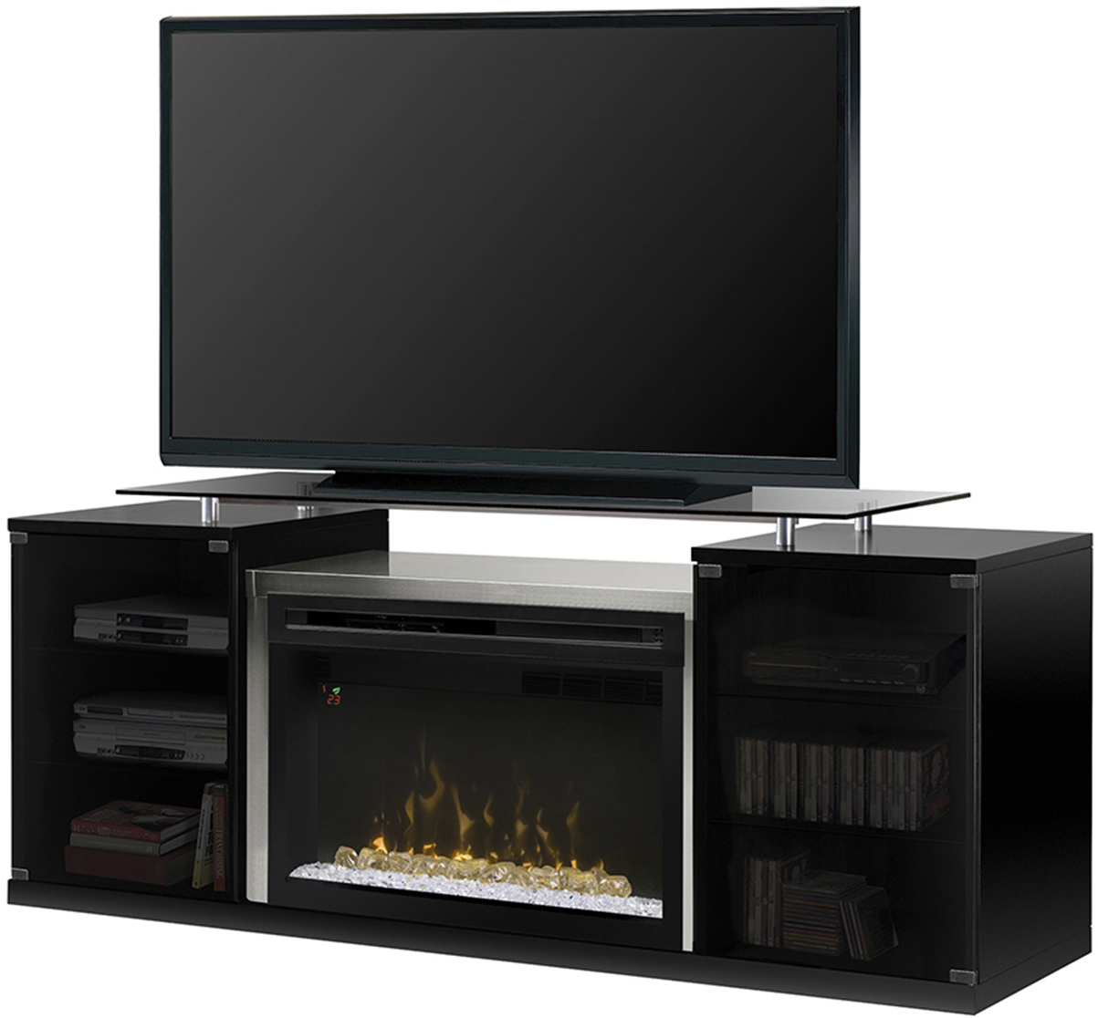 B And Q Gas Fires With Safety Glass