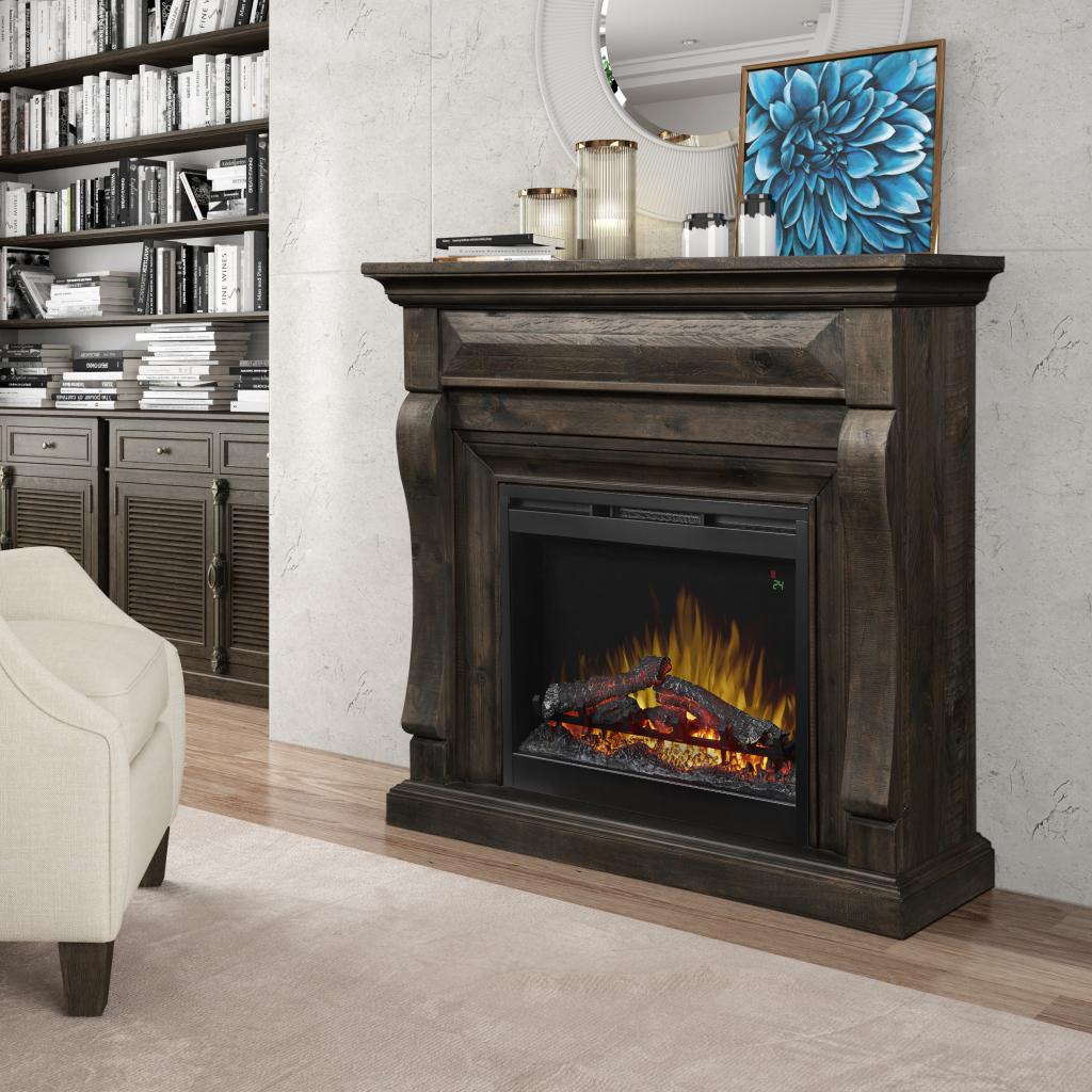 Samluel Dimplex Electric Fireplace Mantle