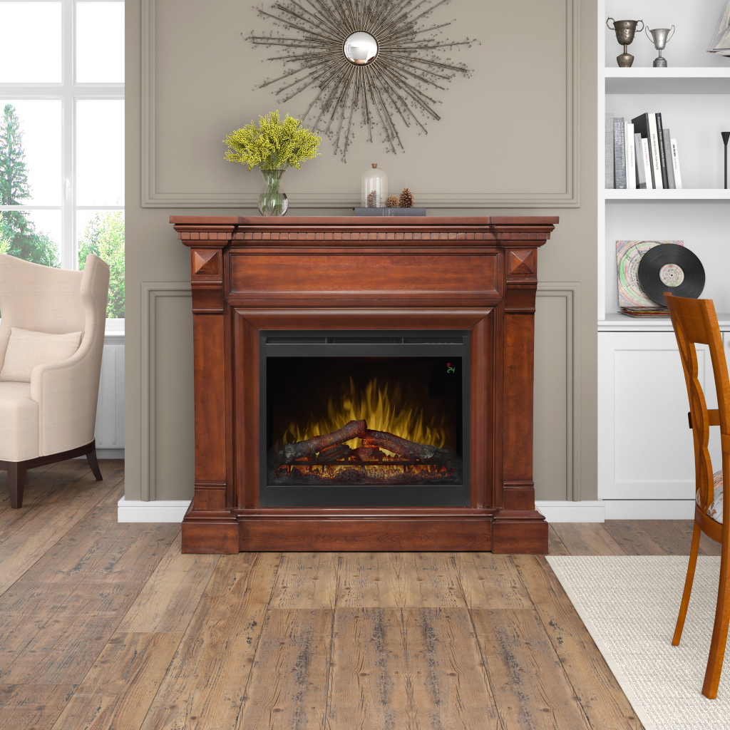 William Dimplex Electric Fireplace Mantle