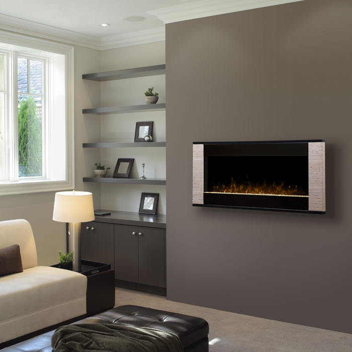 Strata Wall Mounted Fireplace by Dimplex