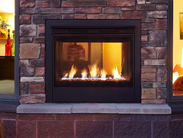 Heatilator twilight modern gas fireplace - Gas fireplaces for small spaces property ...