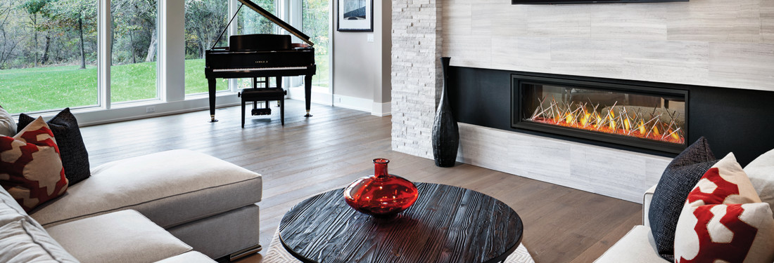 vector linear series fireplace from napoleon
