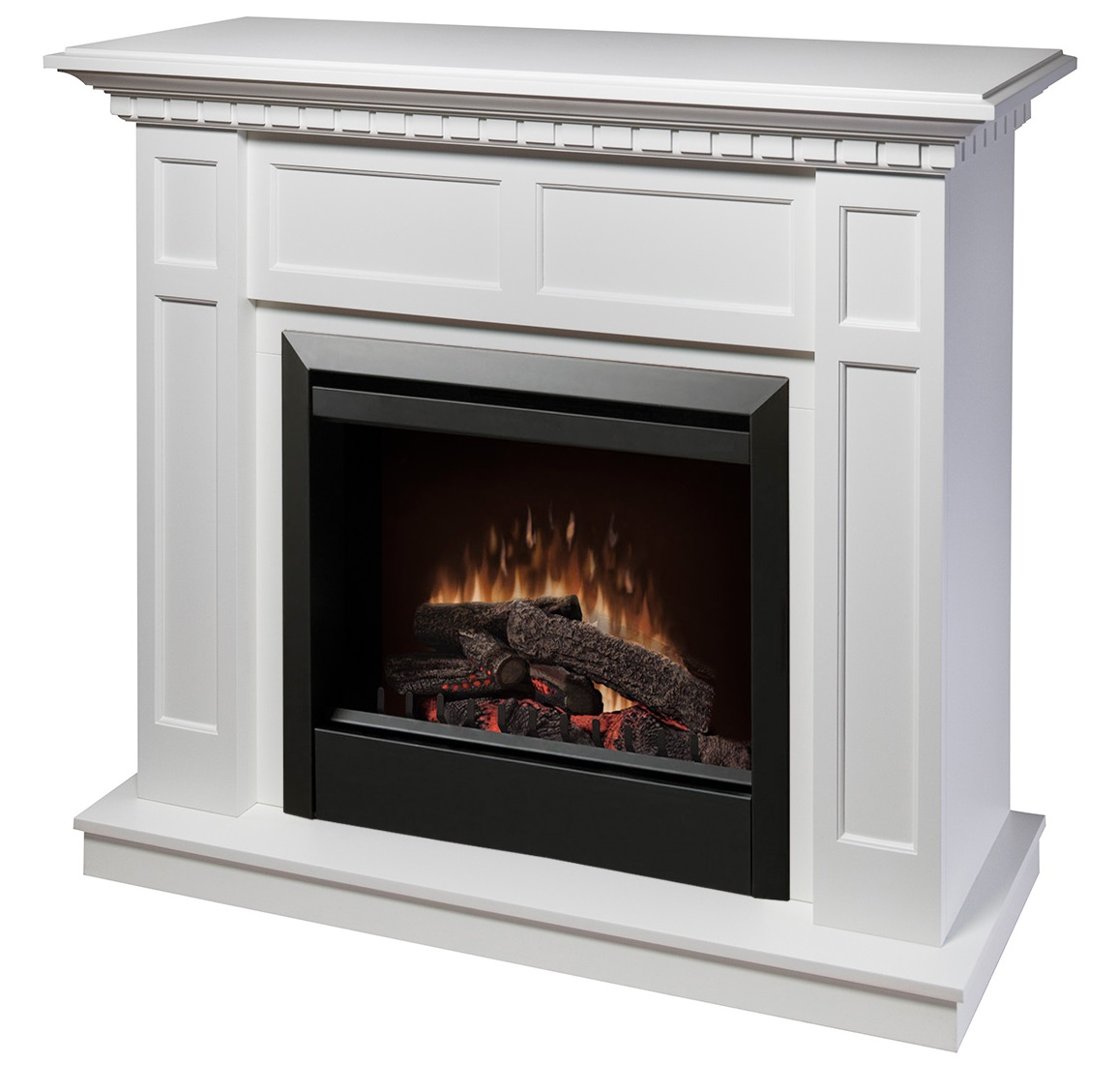 caprice white electric fireplace by dimplex