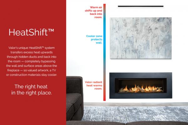 valor heatshift example Hearth Manor Fireplaces