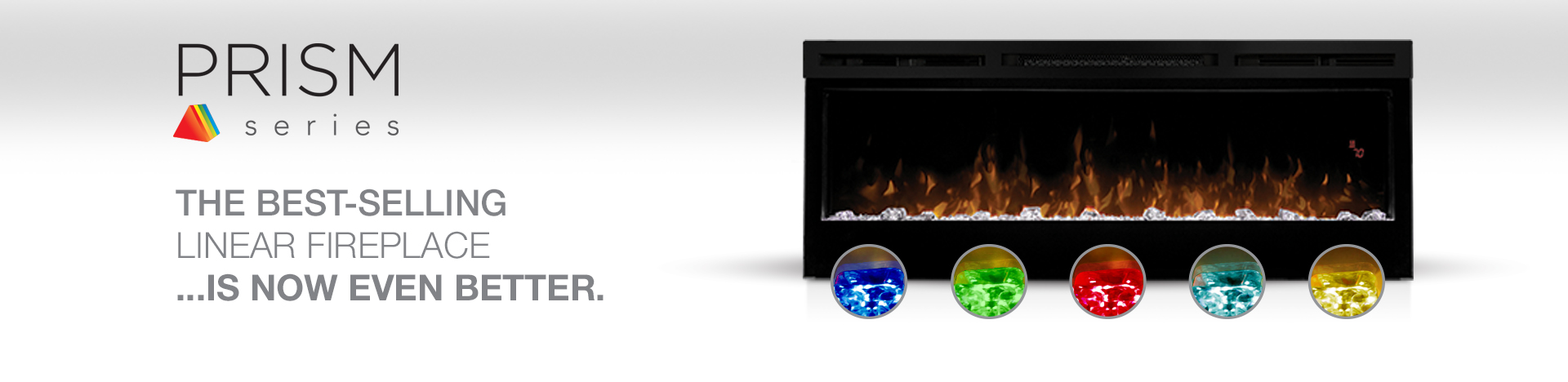 Dimplex Prism Linear Electric Fireplaces Banner