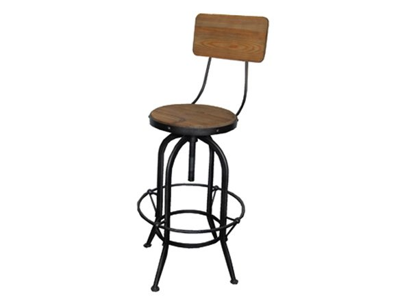Kelly bar stool w/ back by TW studio