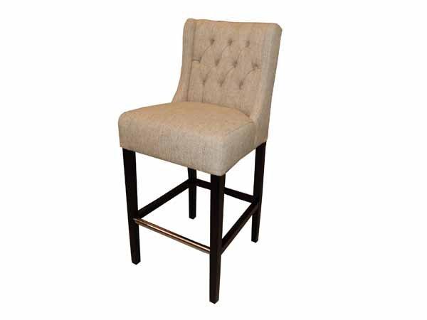 Lara upholstered bar stool by TW studio