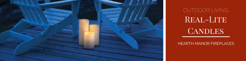 real lite outdoor rain lite candles
