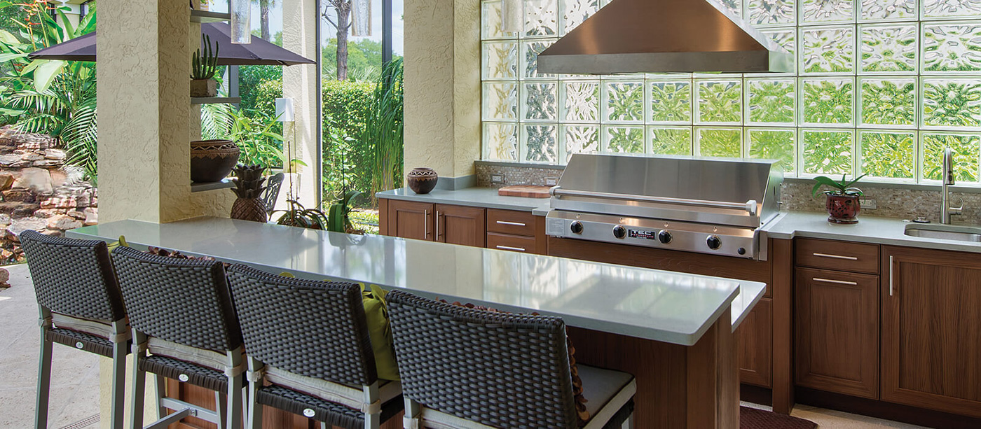 NatureKast Outdoor Kitchen and Grill