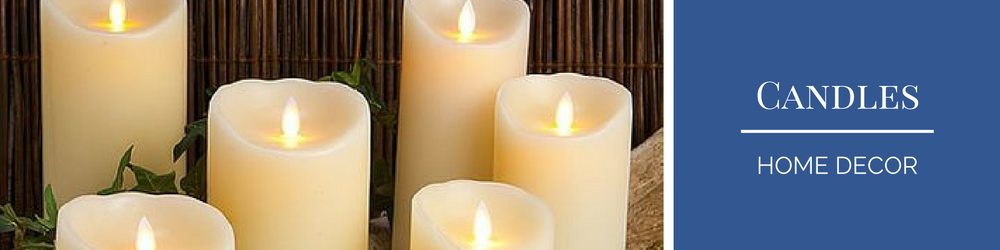 Reallite Candles banner Lifestyle