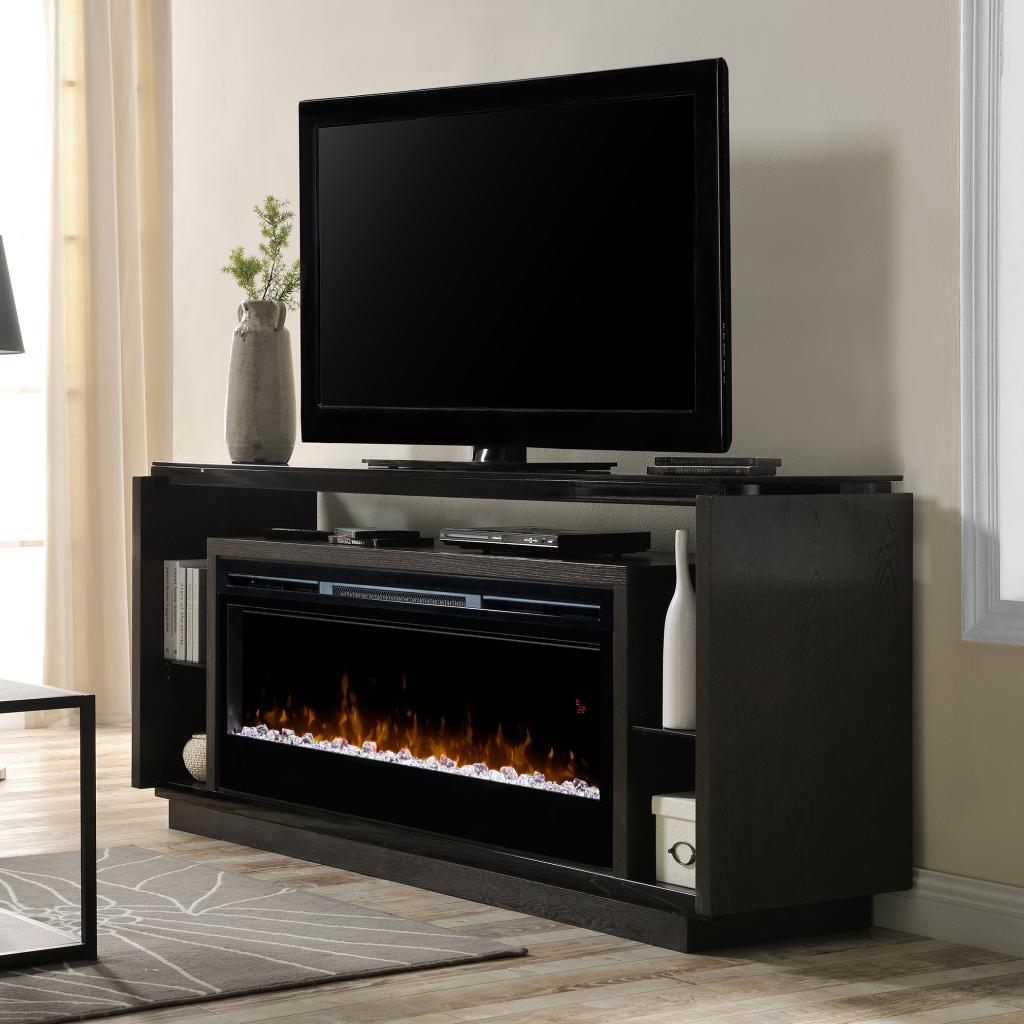 David Dimplex Electric Media Console Fireplace