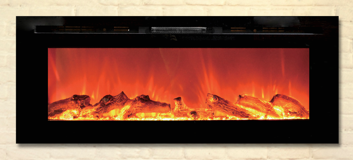 Toso 50 inch Electric Fireplace